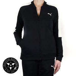Puma Black/Marshmallow French Terry Jacket